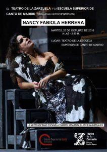 Masterclass con Nancy Fabiola Herrera